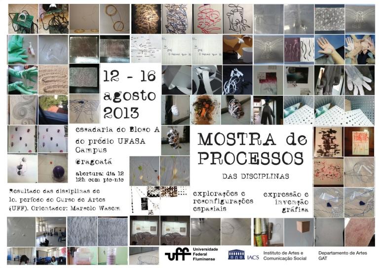 Cartaz Mostra de Processos (com abertura)